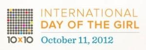 International Day of the Girl logo #IDG2012