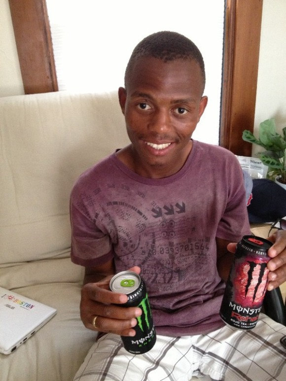 Taking Mtuseni to the gym and watching him try to bulk up his skinny self in two weeks -- followed by his ongoing quest to try every crazy energy drink flavor not sold in South Africa.