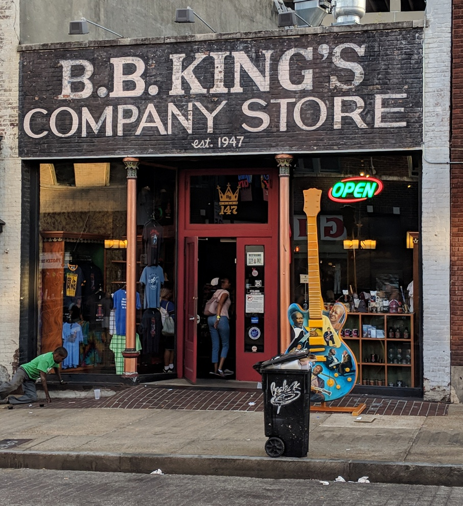 B.B. King's Company Store in Memphis Tennessee