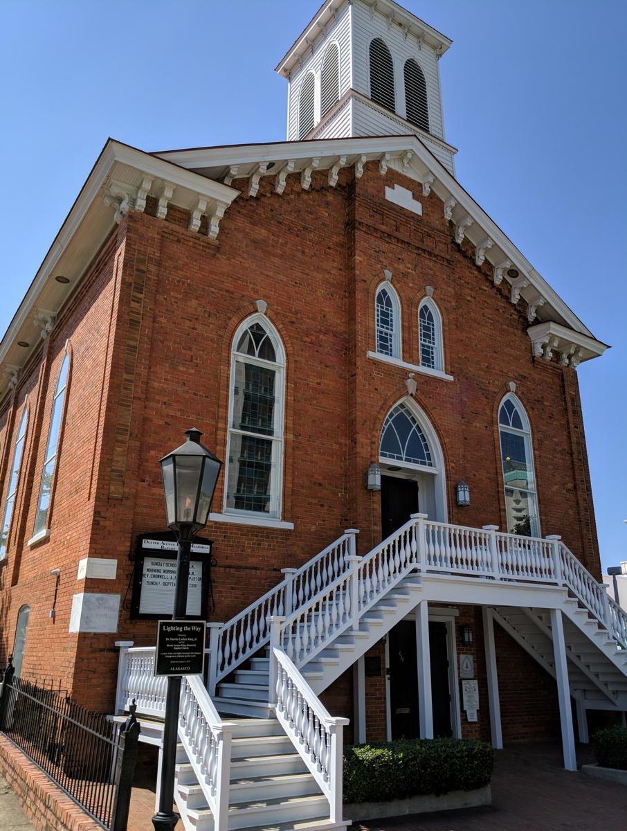 Dexter Avenue King Memorial Baptist Church in Montgomery, Alabama