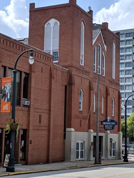 Ebenezer Baptist Church in Atlanta Georgia