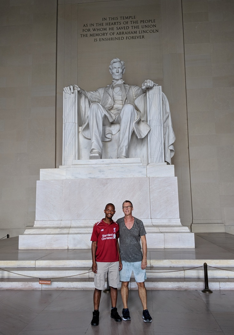 Lincoln Memorial statue n Washington DC