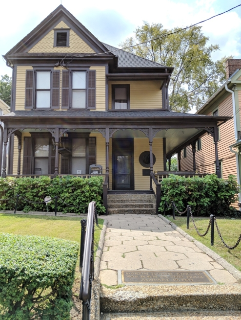 Martin Luther King Juniors birthplace house in Atlanta