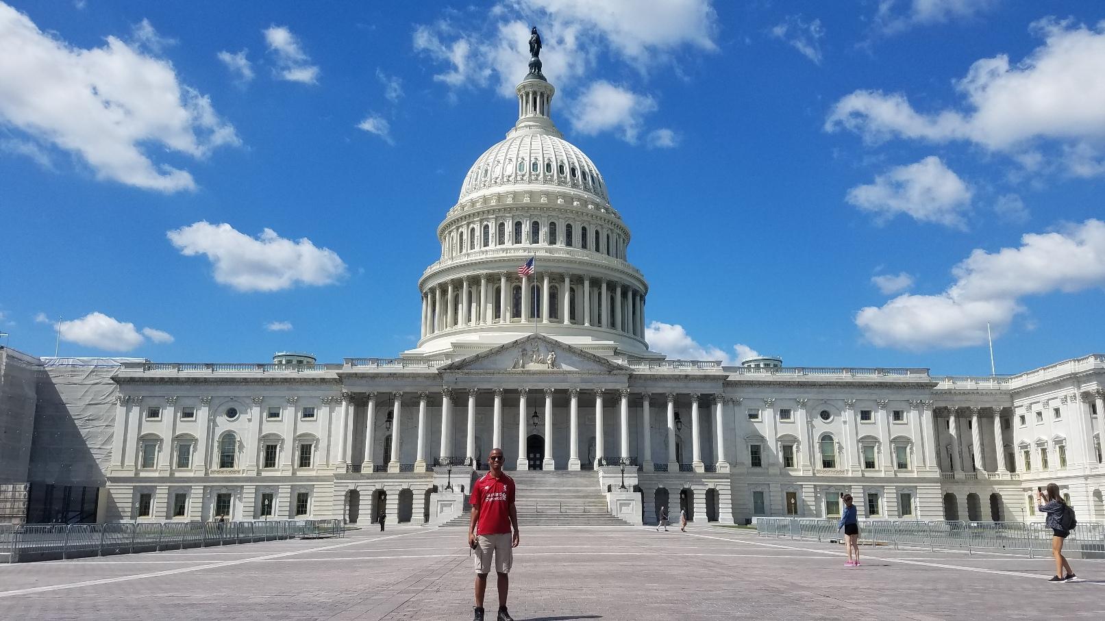 U.S. Capitol building dome in Washington DC