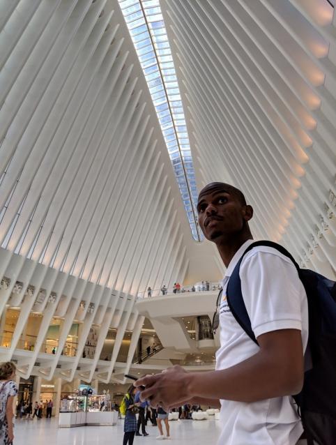 Interior of Oculus, New York