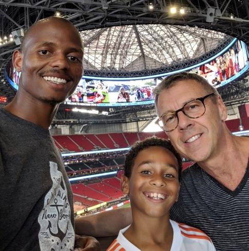 stadium trio