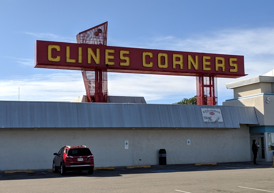 clines sign