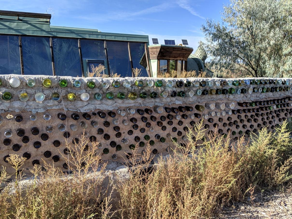 earthship wall