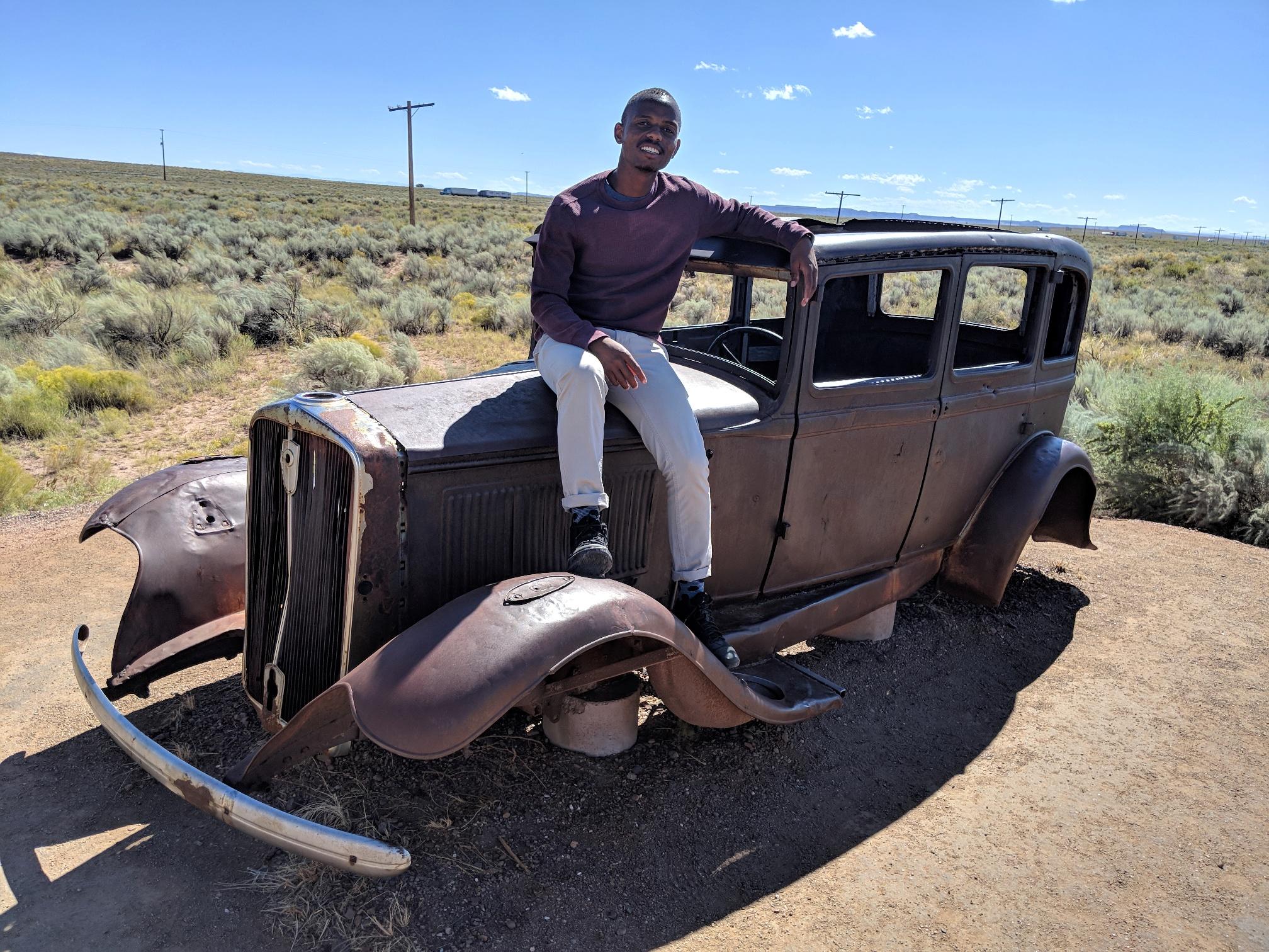 Mtu desert car