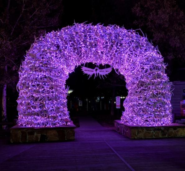 Jackson arch night
